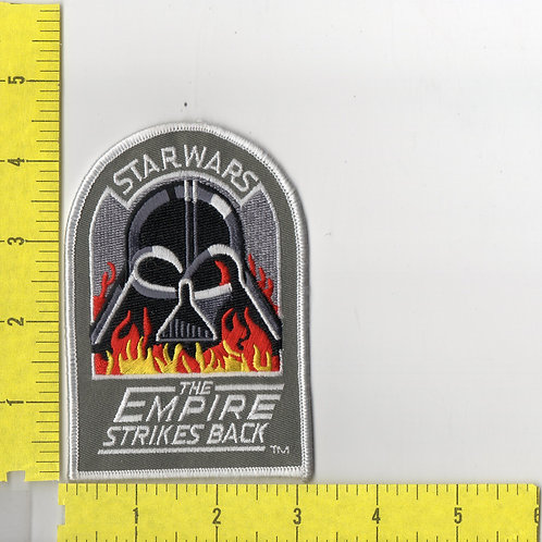 Star Wars: The Empire Strikes Back Title Logo and Vader Helmet Patch