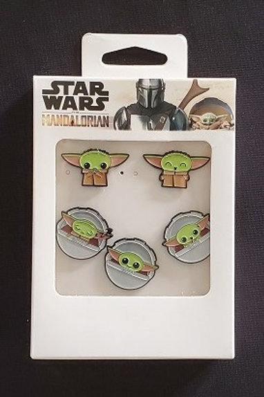 Star Wars: Mandalorian, The Child 5 pin set LINCENSED