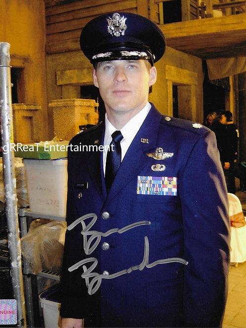 Ben Browder autographed 8 in x 10 in photo