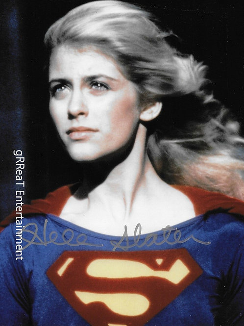 Helen Slater autographed 8 in x 10 in photo