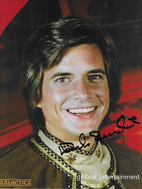 Dirk Benedict autographed 8 in x 10 in photo