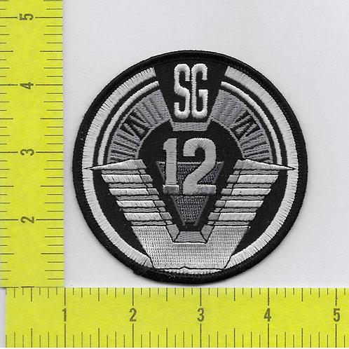 Stargate: SG 12 Logo Patch