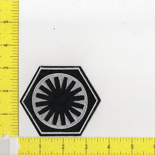 Star Wars: First Order Thorn Cog Flatback Patch