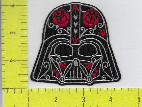 Star Wars: Darth Vader Helmet Face with Roses