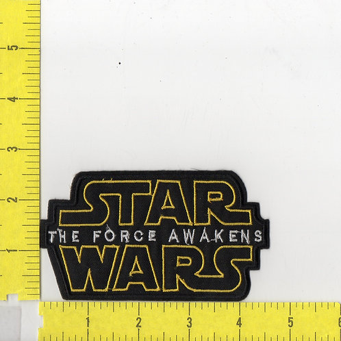 Star Wars: The Force Awakens Movie Name Logo Patch