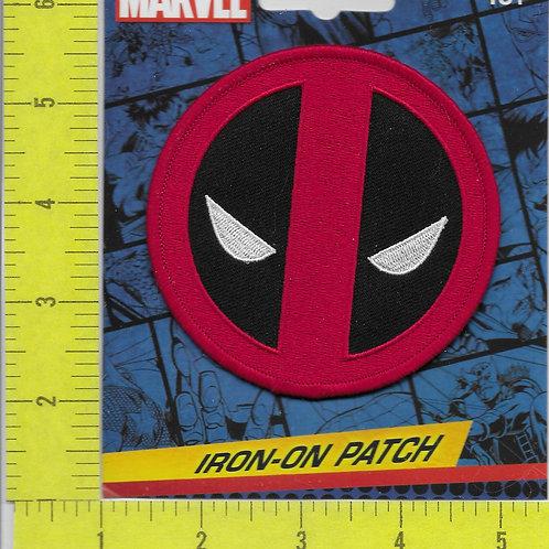 Deadpool Tactical Hook Fastener Licensed Patch