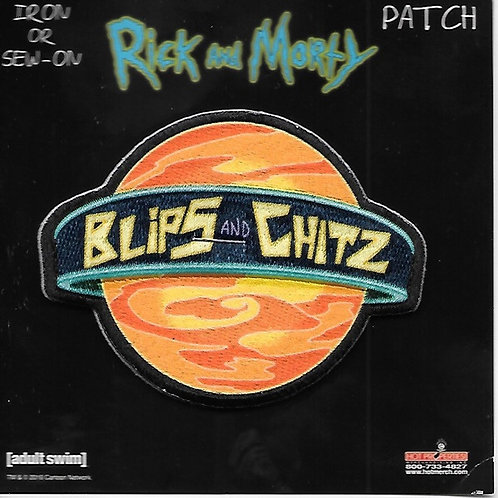 Rick and Morty TV Series: Blips and Chitz