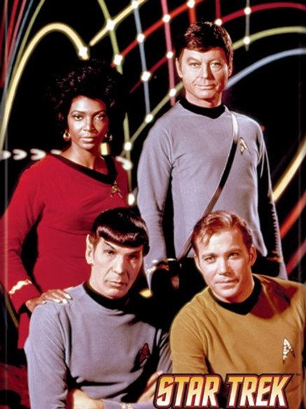 Star Trek: The Original series, Uhura, Bones, Spock and Kirk