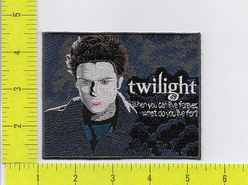 "Twilight - Edward ""When you can live the future"" Patch"