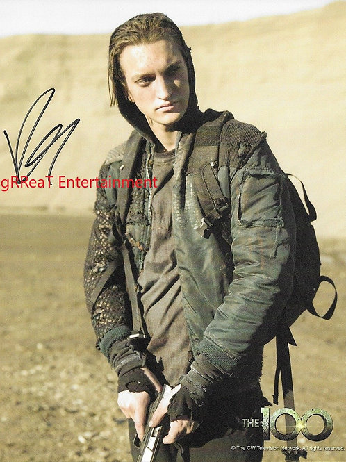 Richard Harmon autographed 8 in x 10 in photo