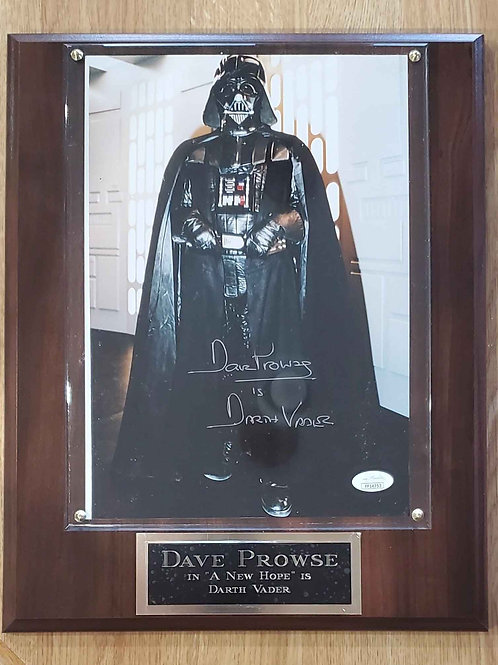 Dave Prowse Cherry Deluxe  Plus Plaque