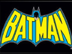 DC Comics:Batman Cape & Name Logo