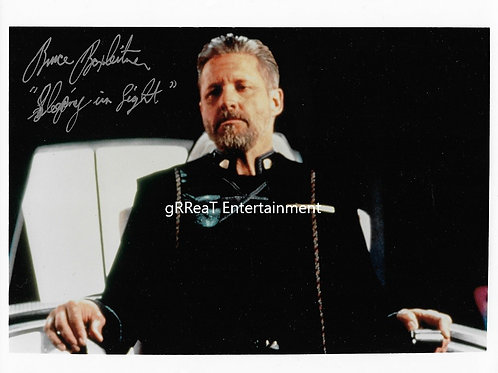 Bruce Boxleitner autographed 10 in x 8 in photo