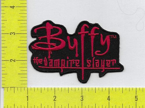 Buffy The Vampire Slayer Title Logo Patch