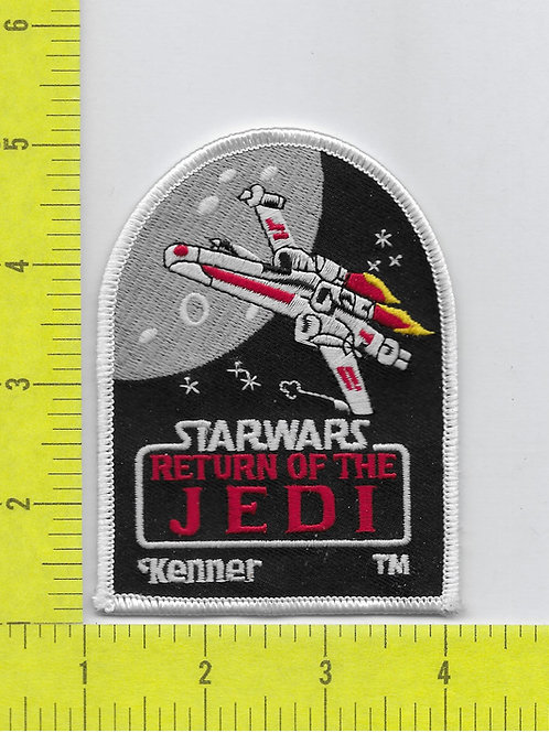 Star Wars: Return of the Jedi Title Logo and X-Wing ship KENNER Pa