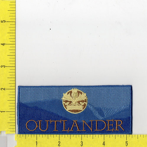 Outlander TV Series Logo Patch