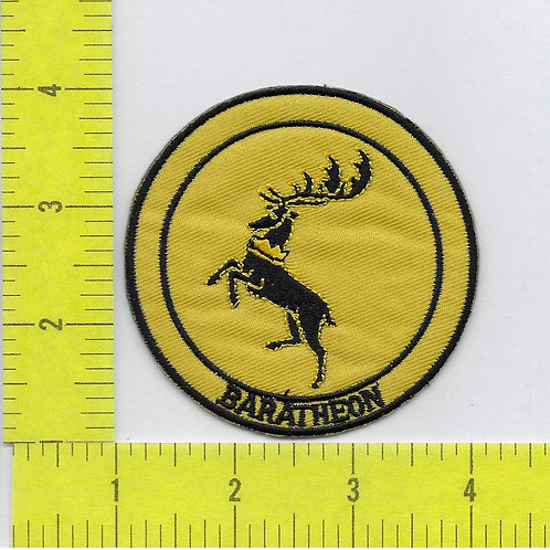 Game of Thrones: Baratheon House Sigil Patch