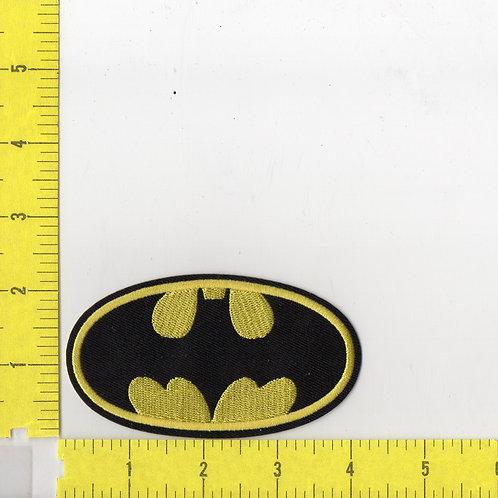 Batman Chest Logo Patch (Lg)