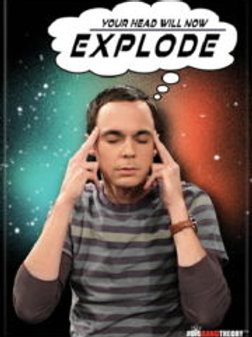 """The Big Bang Theory: """"Your Head Will Now Explode"""""""