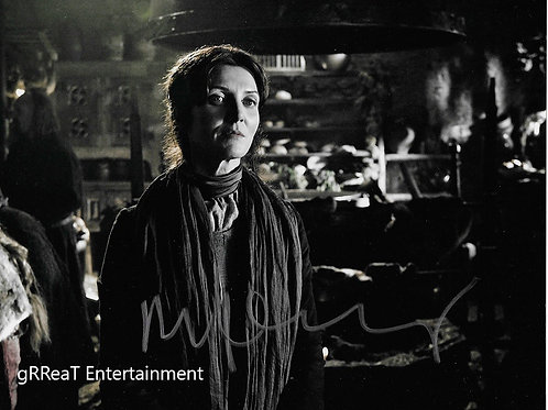 Michelle Fairley autographed 10 in x 8 in. Photo