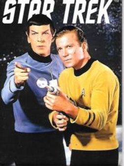 Star Trek: The Original series, Spock and Kirk with Phasers