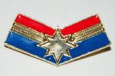 Capt. Marvel Star Logo Pin