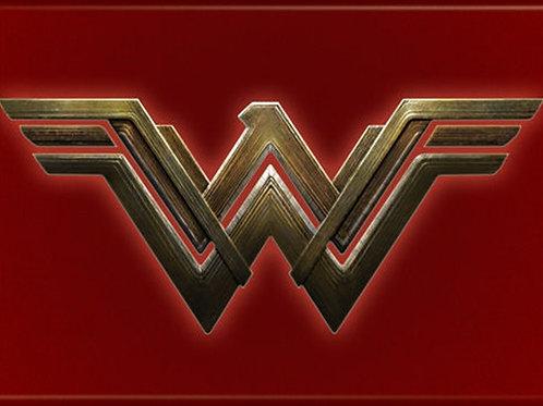 Wonder Woman Chest Logo