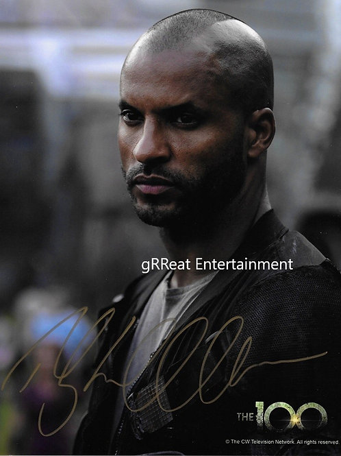 Ricky Whittle Autographed 8 in x 10 in. Photo