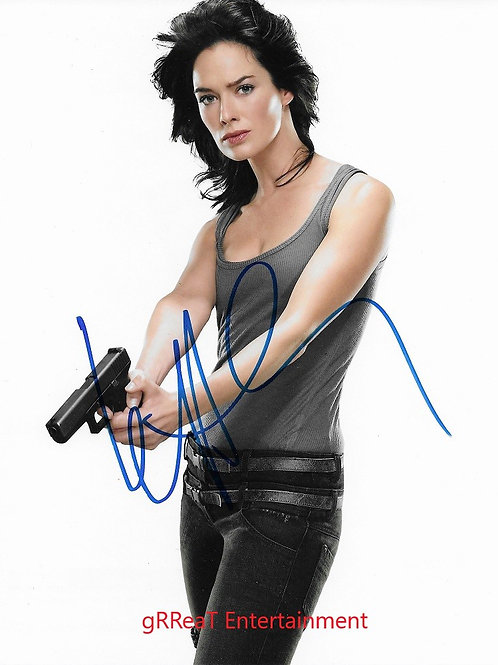 Lena Heady autographed 8 in x 10 in. Photo