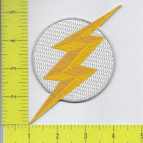 New TV Flash Lightning Bolt Patch
