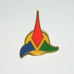 Star Trek classic TV Klingon Sm enamel Pin