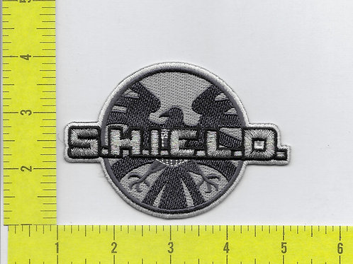 Agents of S.H.I.E.L.D. Symbol and Name Patch