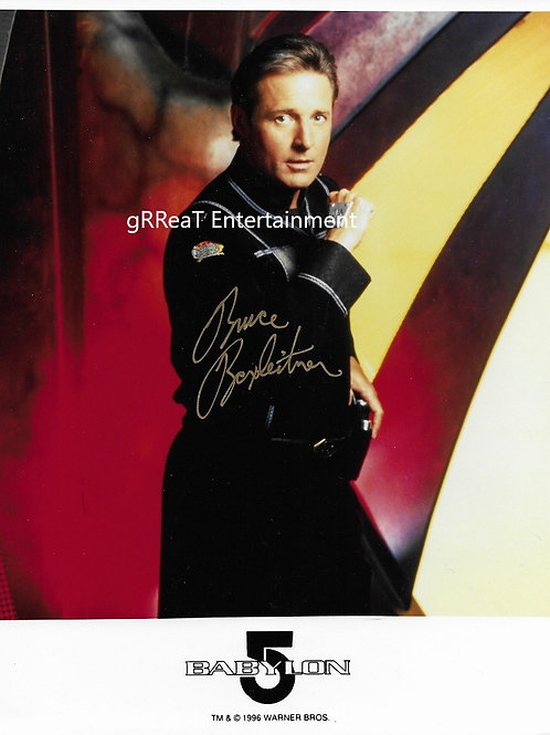 Bruce Boxleitner autographed 8 in x 10 in photo