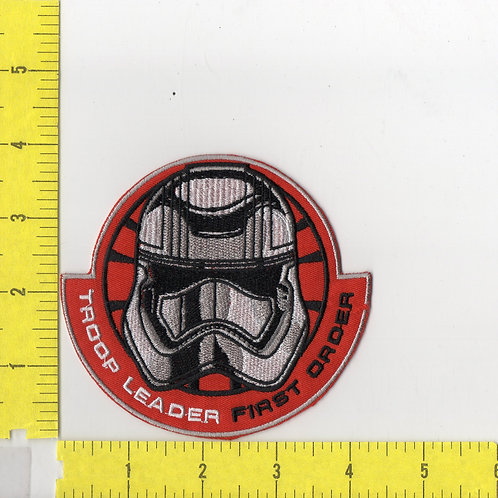 Star Wars: The Force Awakens First Order Troop Leader Patch
