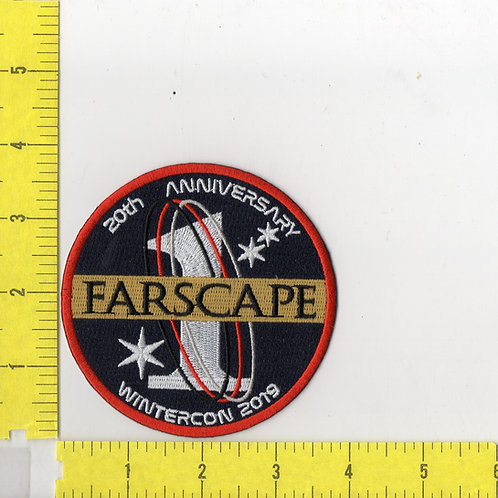 Farscape TV Series 20th Anniversary Name Logo Patch