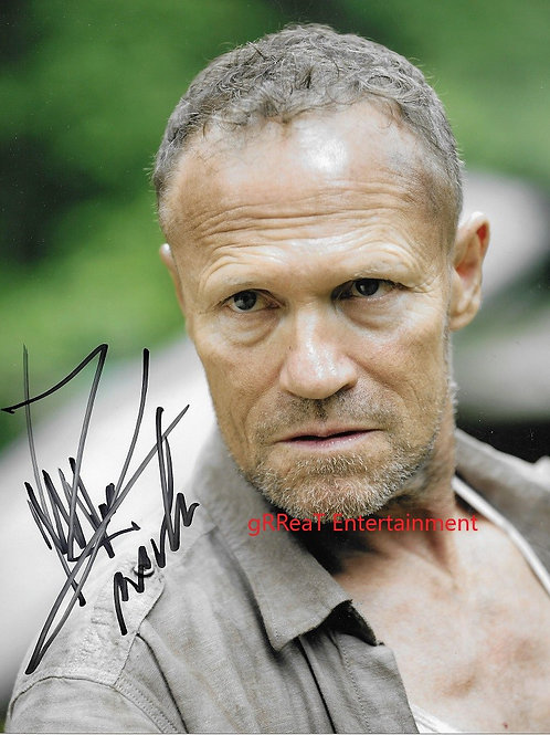 Michael Rooker autographed 8 in x 10 in photo
