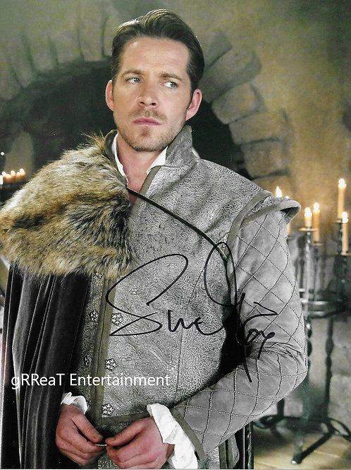 Sean Maguire Autographed 8 in x 10 in. Photo