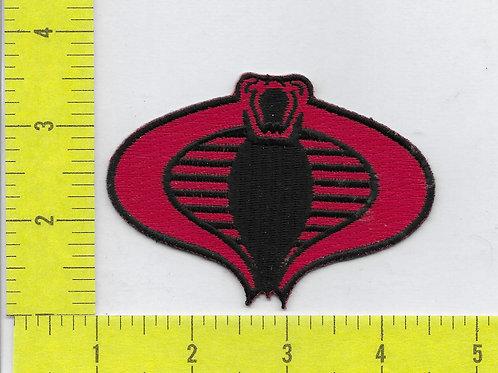 G.I. Joe Cobra Patch - Red