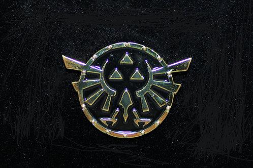 Zelda Twilight Princess Triforce Logo Pin