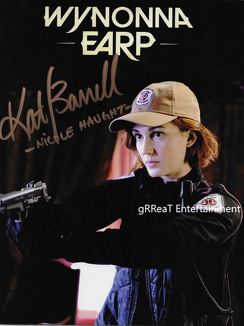 Katherine Barrell autographed 8 in x 10 in photo