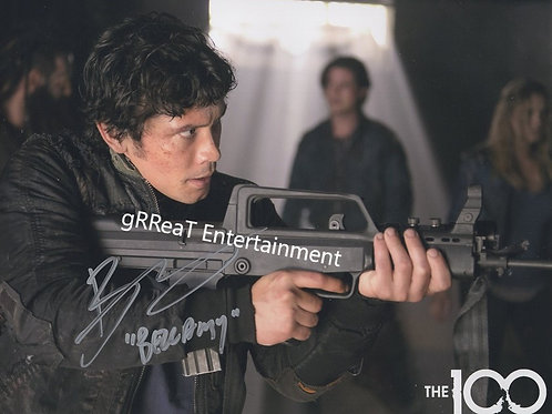 Bob Morley autographed 10 in x 8 in photo