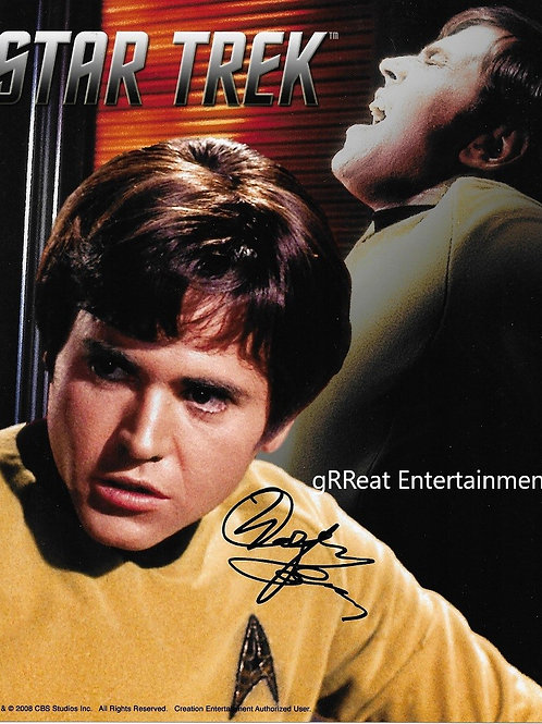 Walter Koenig Autographed 8in x10in. Photo