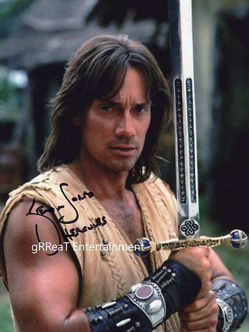 Kevin Sorbo autographed 8 in x 10 in photo