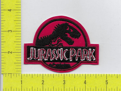 Jurassic Park Patch RED