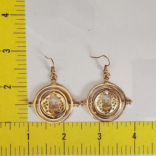 H.P. - Time Turner Earrings