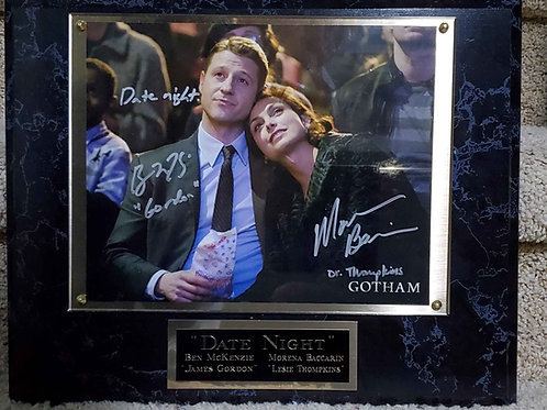 """Date Night"" McKenzie/Baccarin Super Deluxe Plaque"