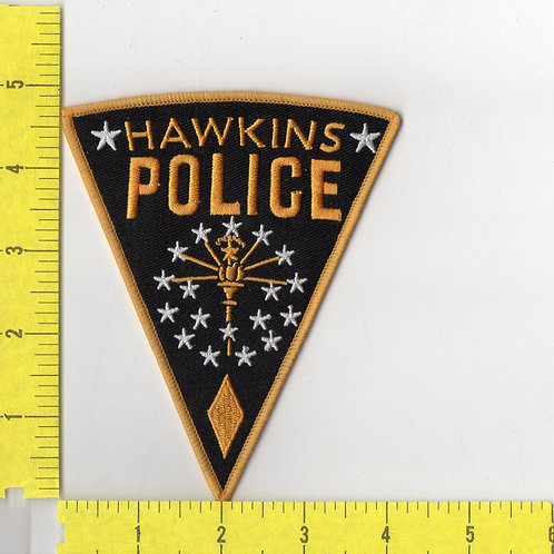 Stranger Things TV Series Hawkins Police Logo Patch