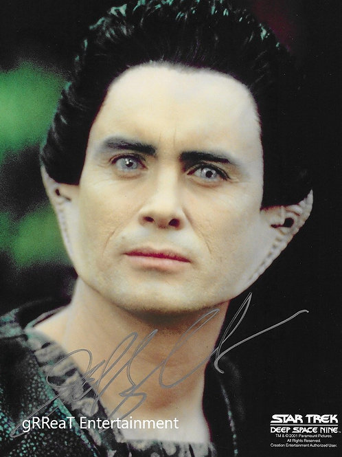 Jeffrey Combs autographed 8 in x 10 in photo