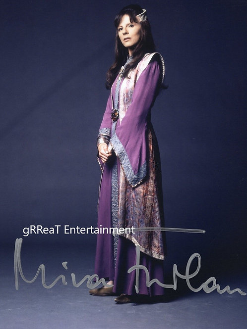 Mira Furlan autographed 8 in x 10 in photo