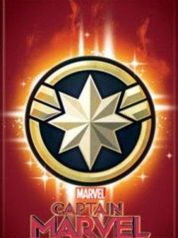 Marvel Comics: Capt. Marvel Movie, Star Emblem Logo